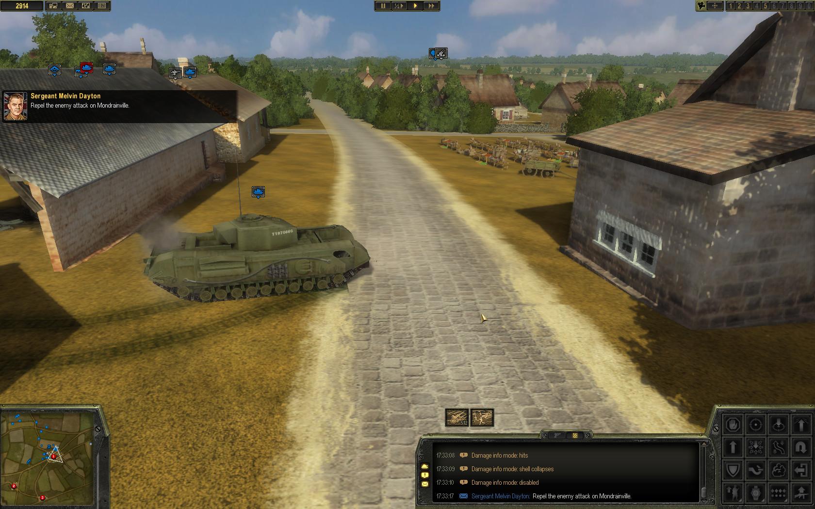 Theatre of War 2 - Battle for Caen screenshot