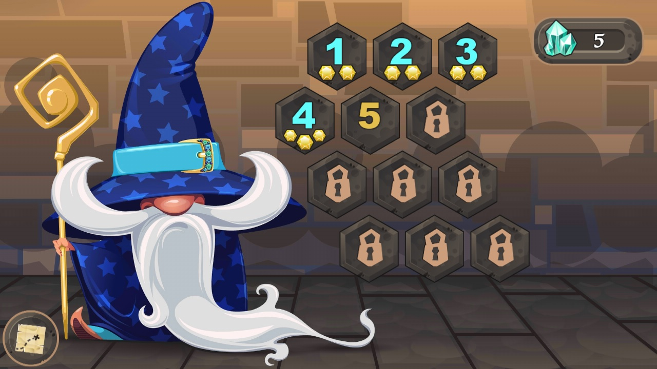 Colours of Magic: Aqua Teeter screenshot