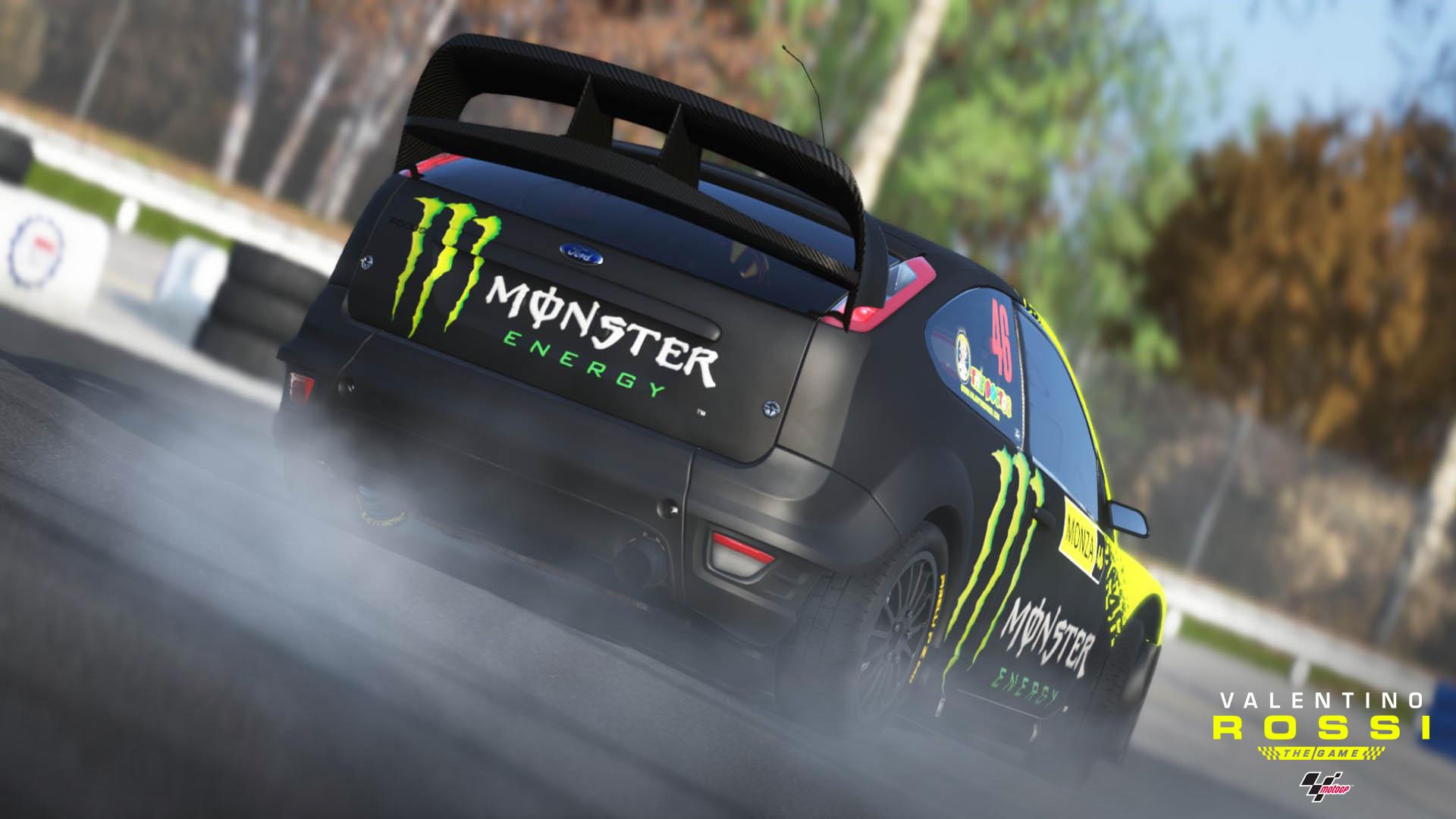 Rossi Ford Focus Rally car 2009 screenshot