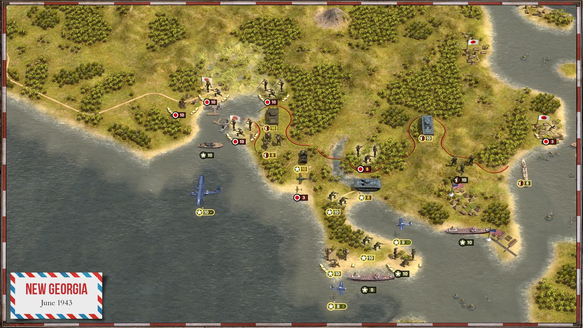 Order of Battle: U.S. Pacific screenshot