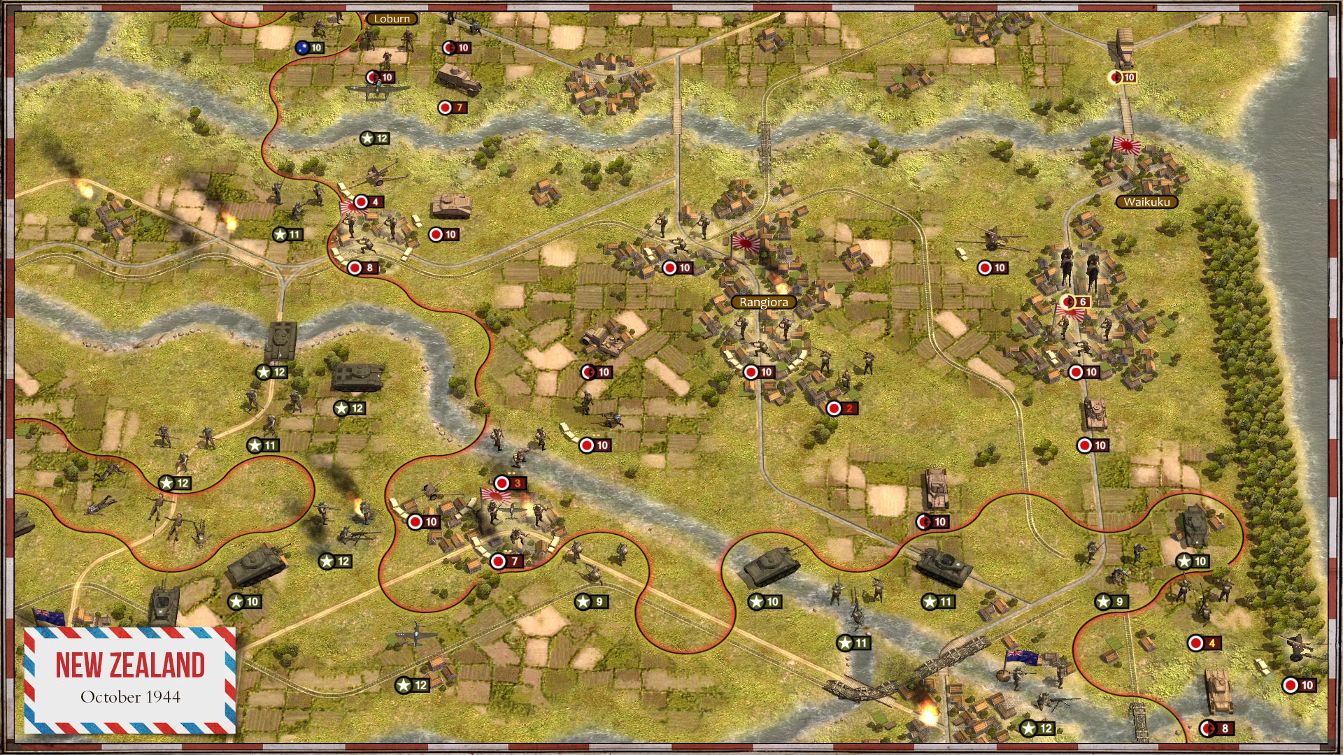 Order of Battle: Rising Sun screenshot