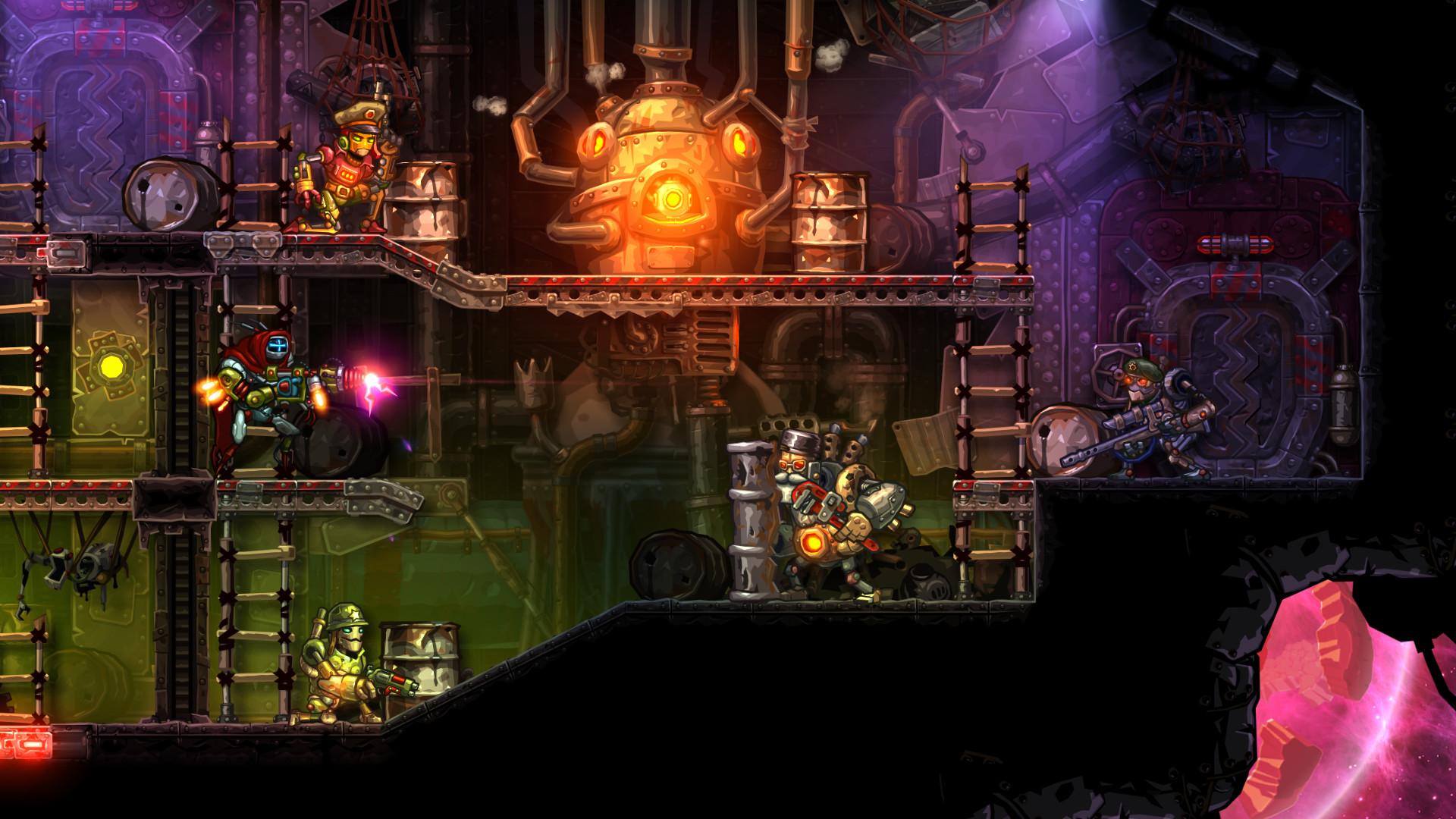 SteamWorld Heist: The Outsider screenshot