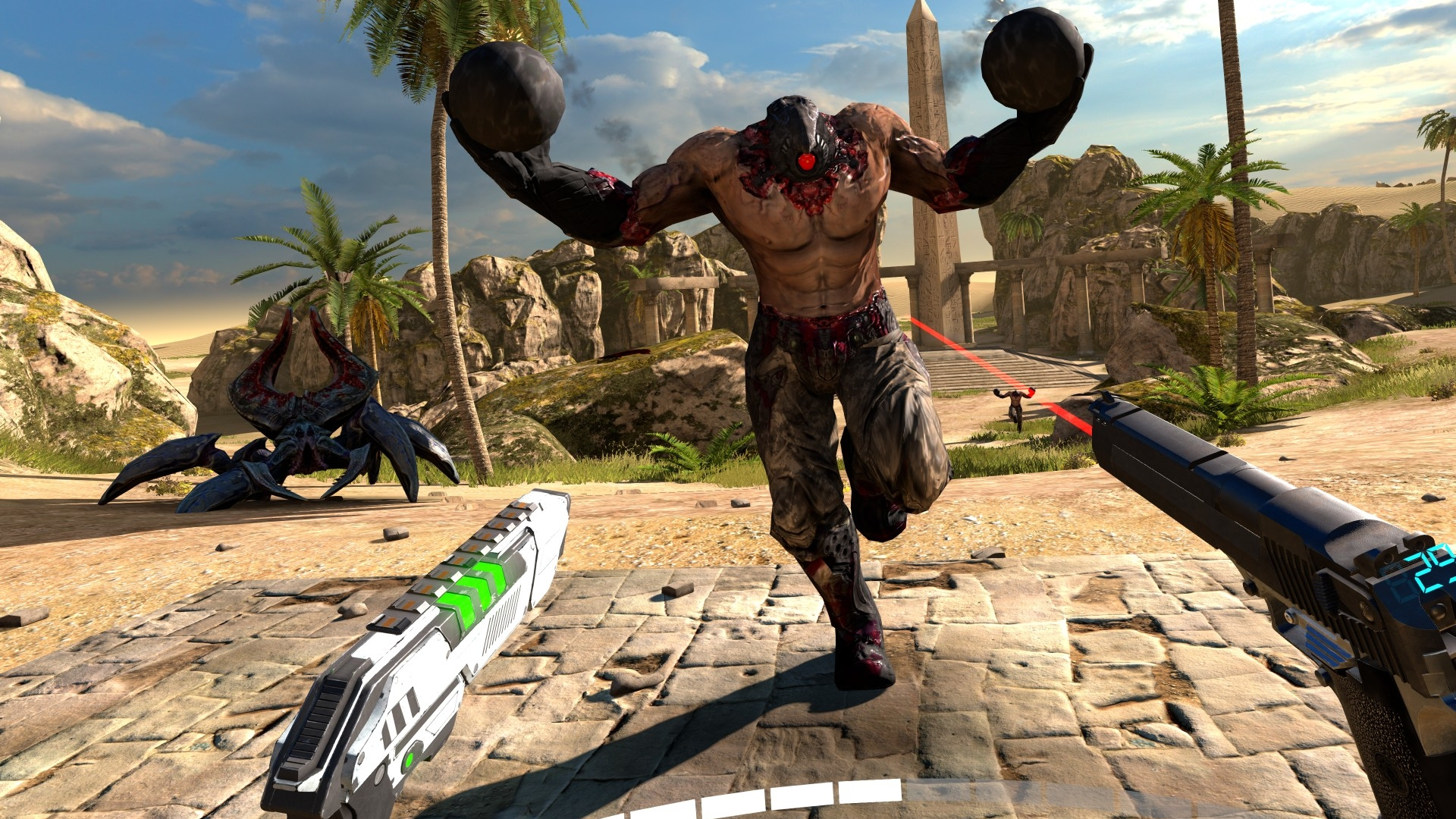 VRゲーム,Serious Sam VR: The Last Hope,イメージ