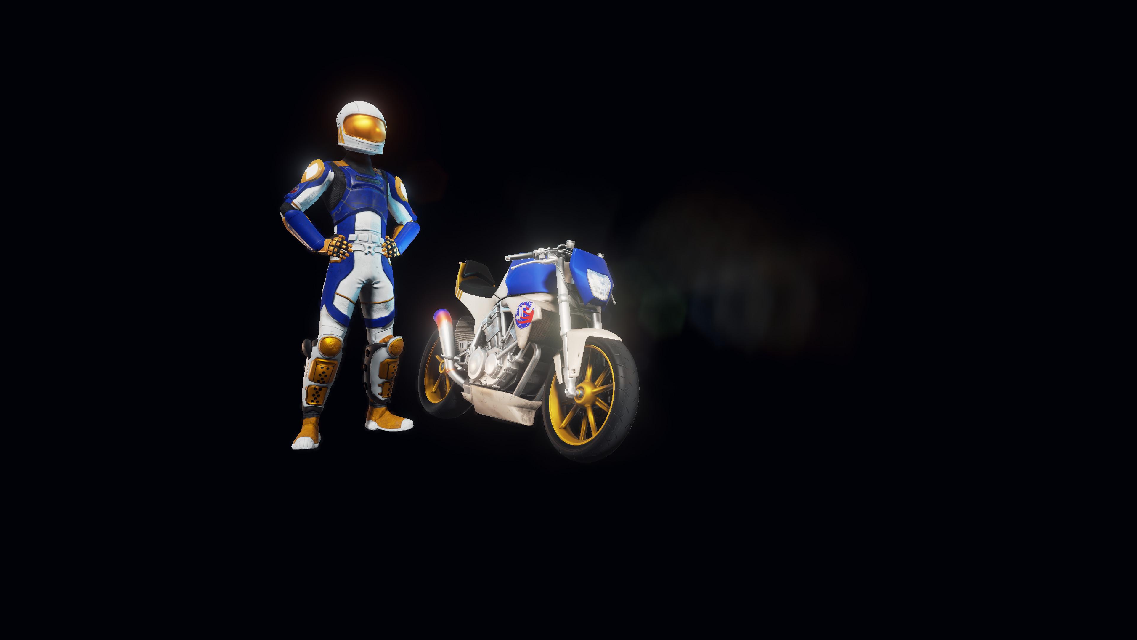 Moto Racer 4 - Space Dasher screenshot