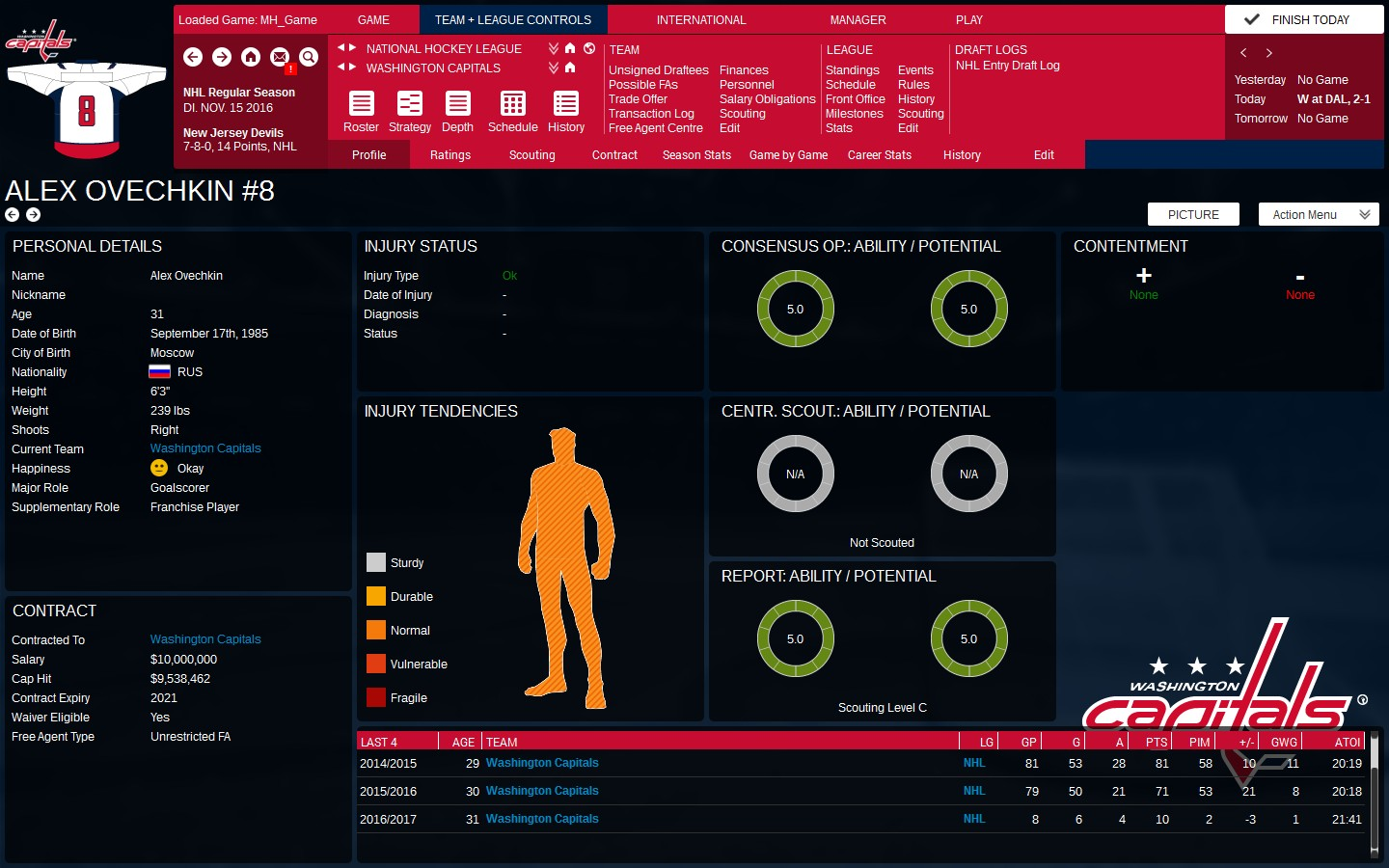 Franchise Hockey Manager 3 Screenshot 3