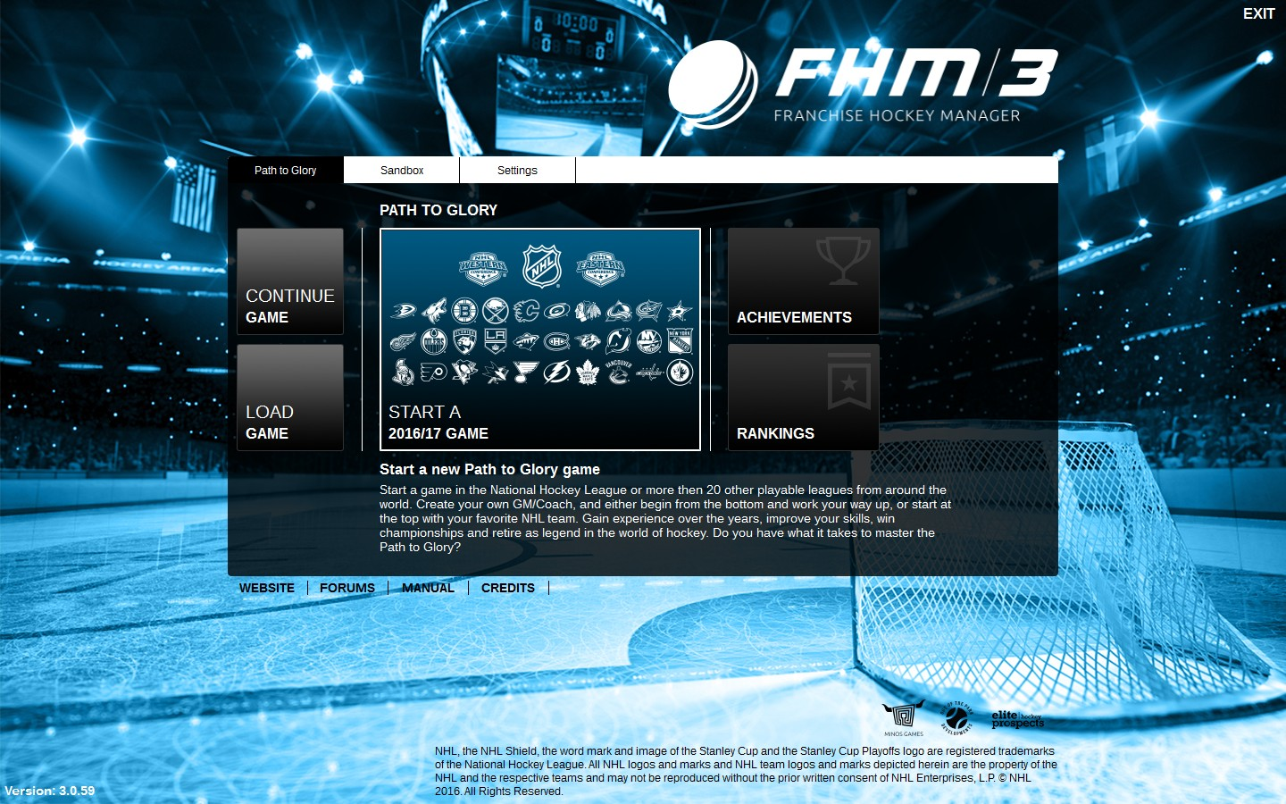 Franchise Hockey Manager 3 Screenshot 1