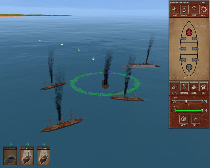 Ironclads: American Civil War screenshot