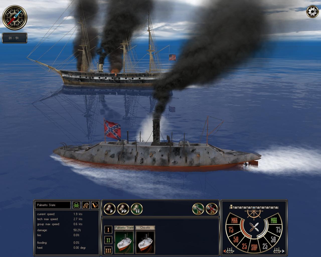 Ironclads: High Seas screenshot