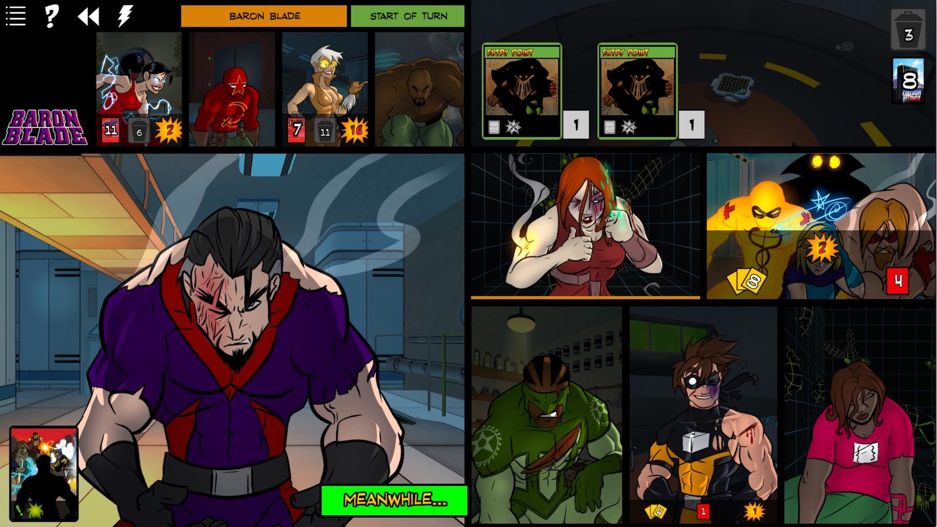 Sentinels of the Multiverse - Vengeance screenshot