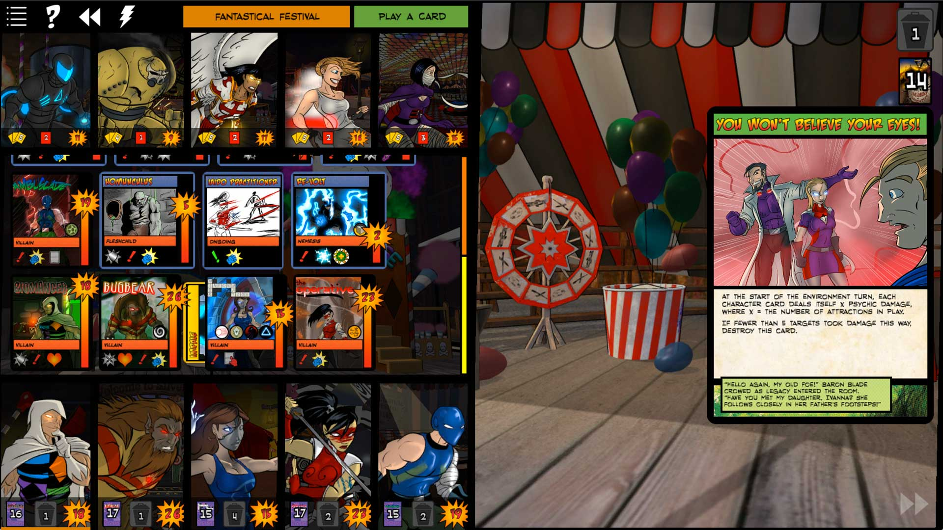 Sentinels of the Multiverse - Villains of the Multiverse screenshot