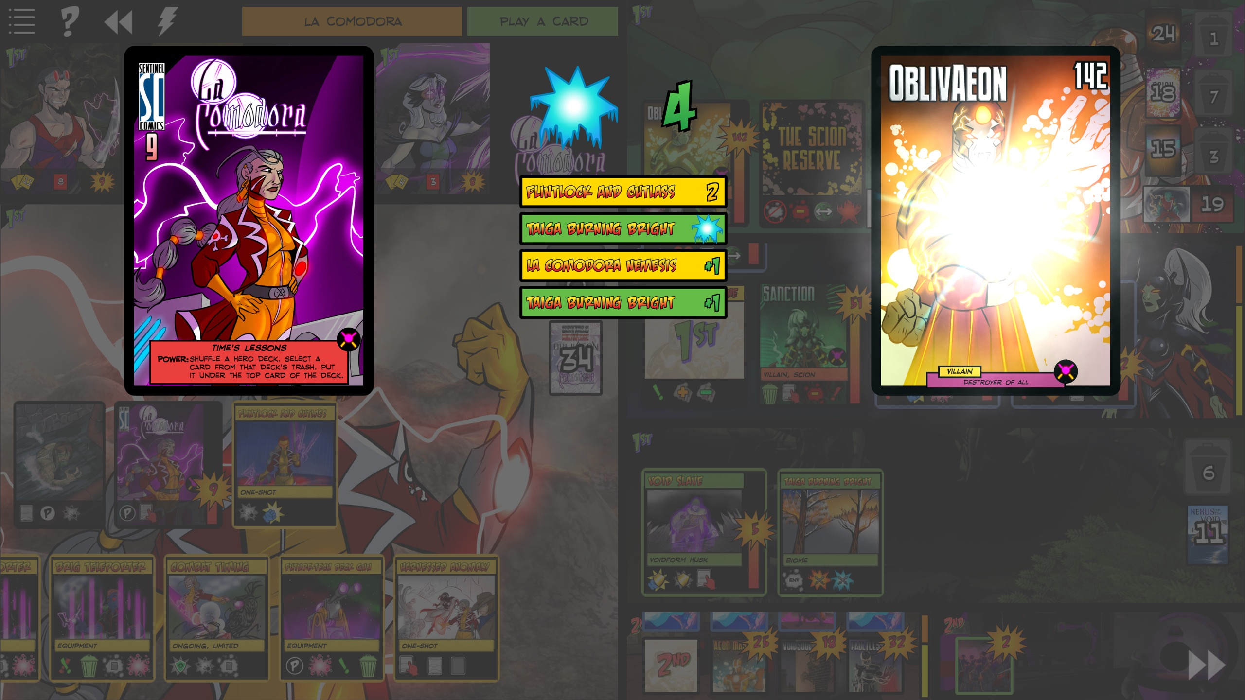 Sentinels of the Multiverse - OblivAeon screenshot