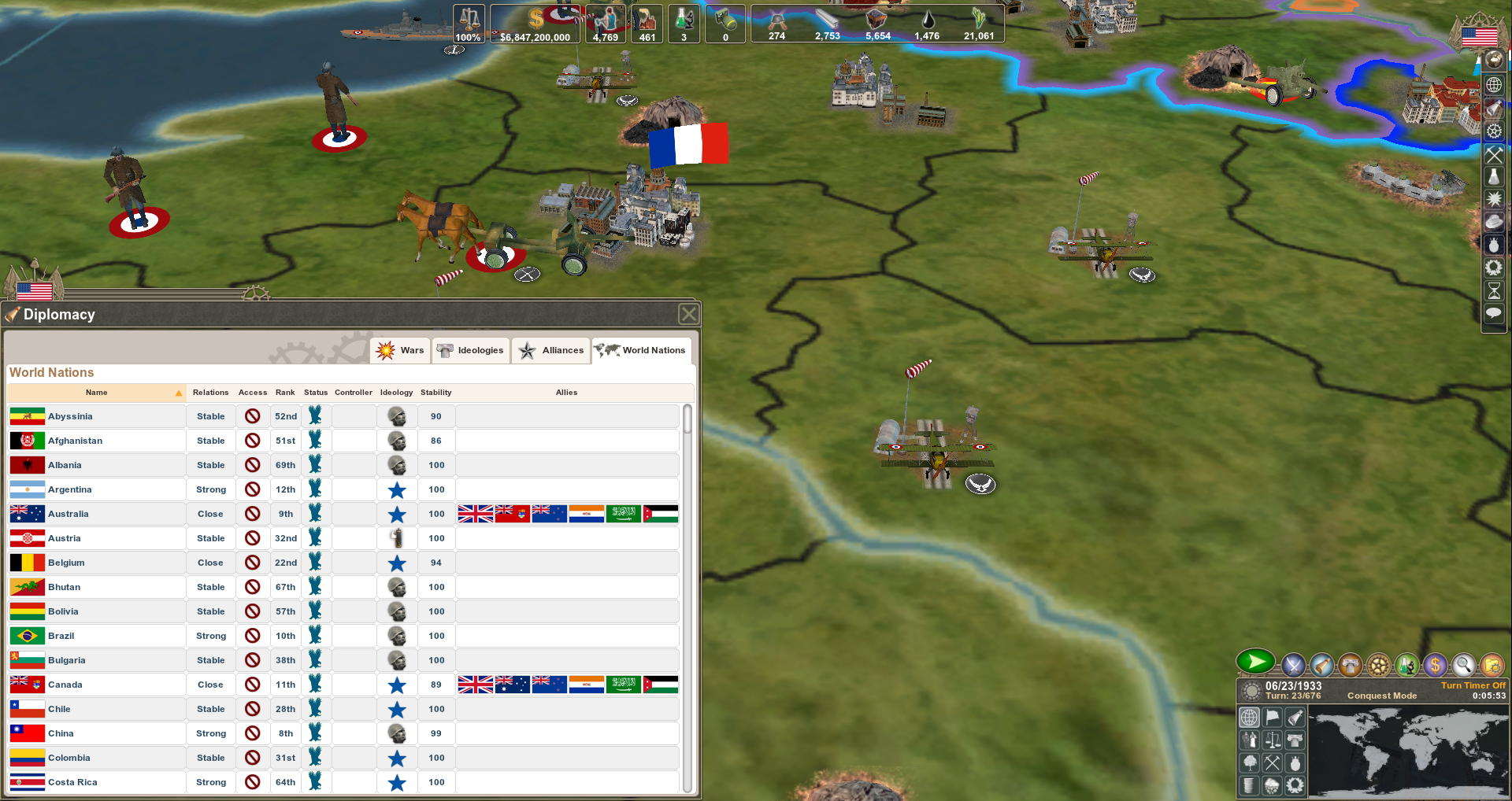Making History II: The War of the World screenshot