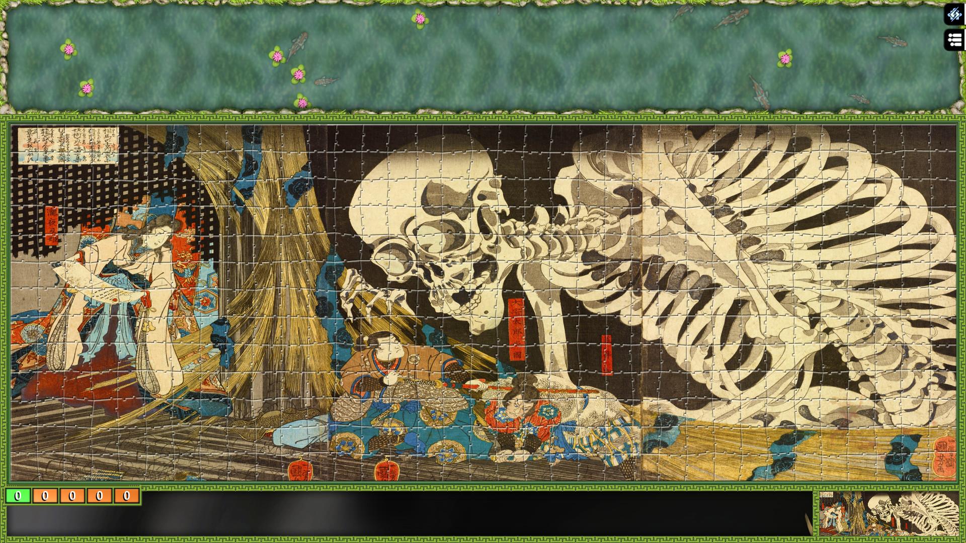 Jigsaw Puzzle Pack - Pixel Puzzles Ultimate: Ukiyo-e screenshot