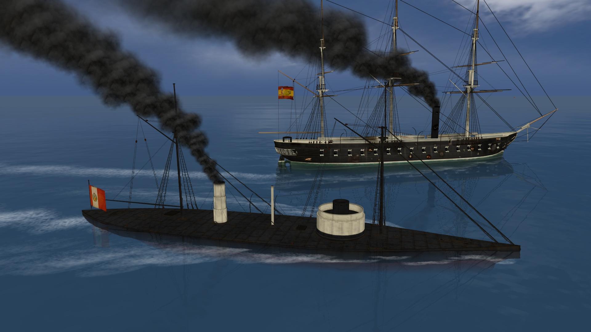 Ironclads: Chincha Islands War 1866 screenshot