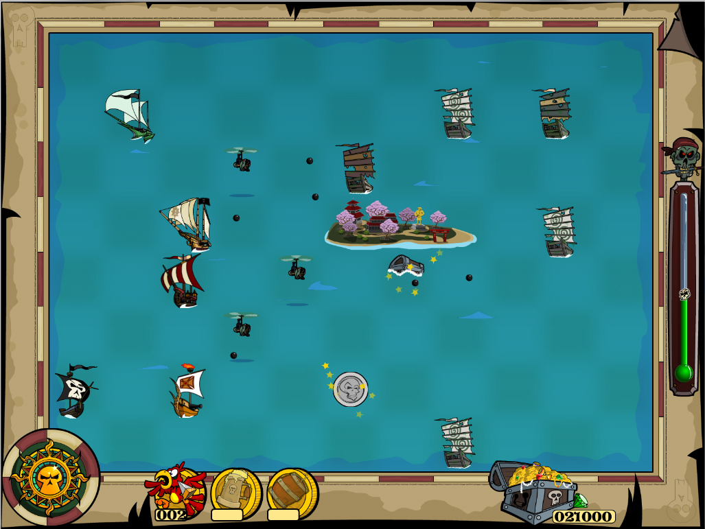 Zombie Pirates screenshot