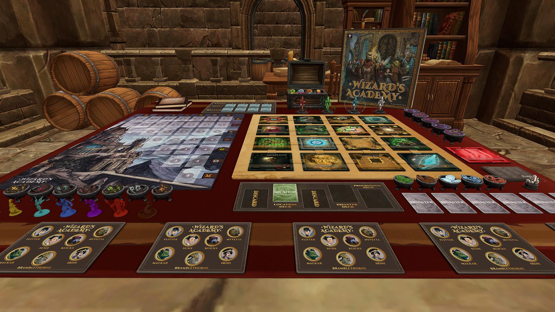 tabletop simulator - wizard's academy on steam