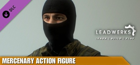 Leadwerks Game Engine - Mercenary Action Figure
