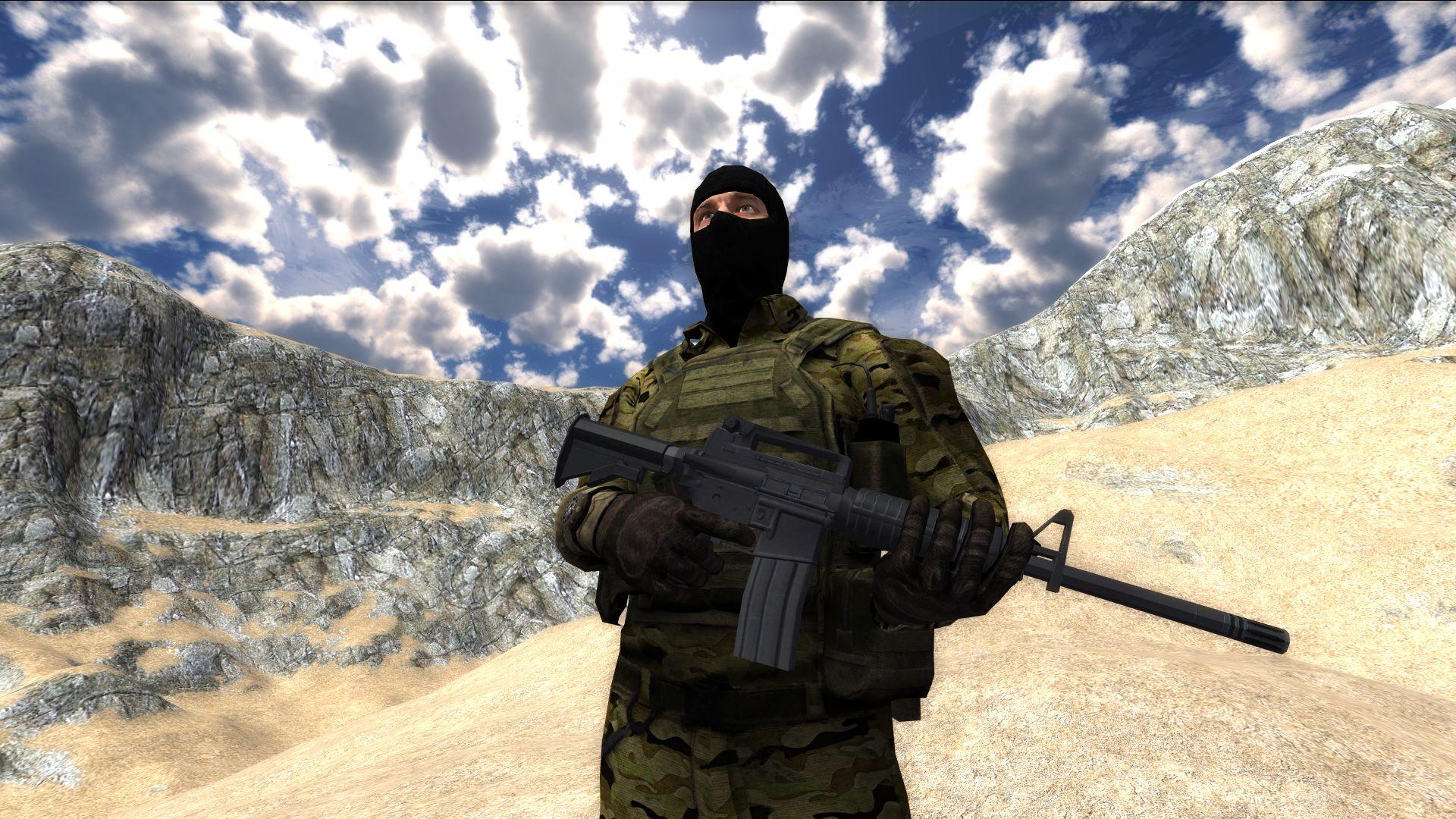 Leadwerks Game Engine - Mercenary Action Figure screenshot