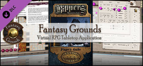 Fantasy Grounds - Savage Worlds - Rippers Resurrected: Player's Guide