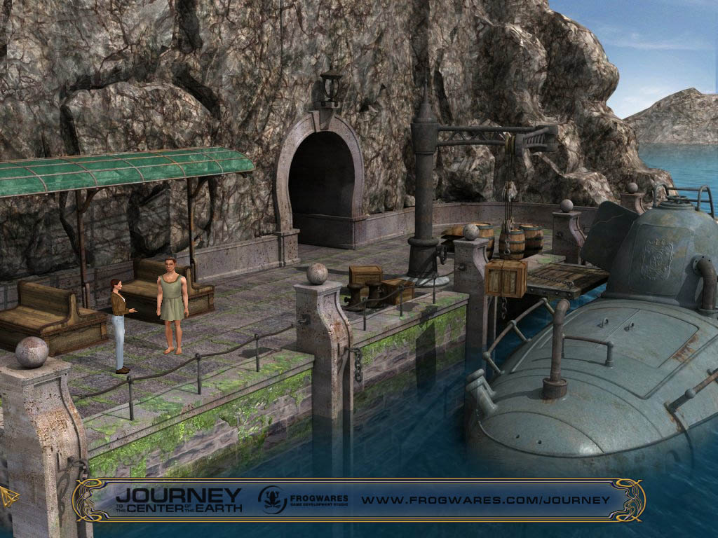 Journey to the Center of the Earth screenshot