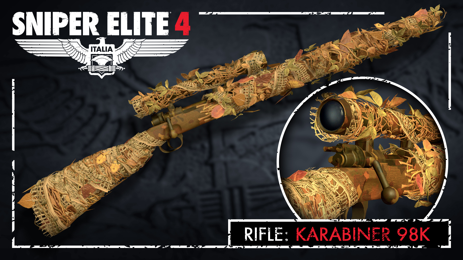 Sniper Elite 4 - Camouflage Rifles Skin Pack screenshot