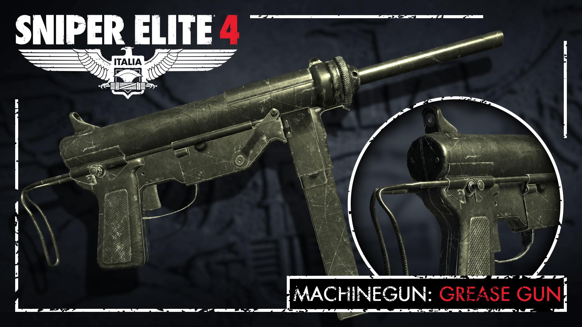 Sniper Elite 4 - Silent Warfare Weapons Pack screenshot