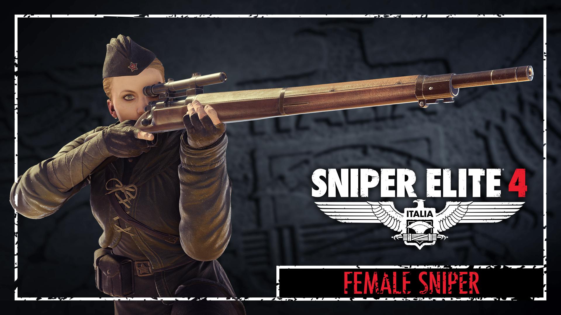 Sniper Elite 4 - Covert Heroes Character Pack screenshot