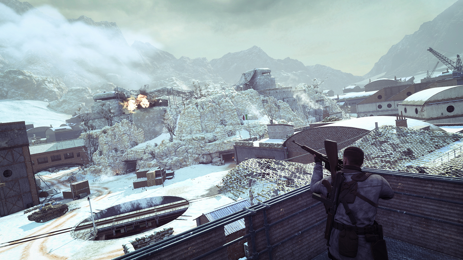 Sniper Elite 4 - Deathstorm Part 1: Inception screenshot