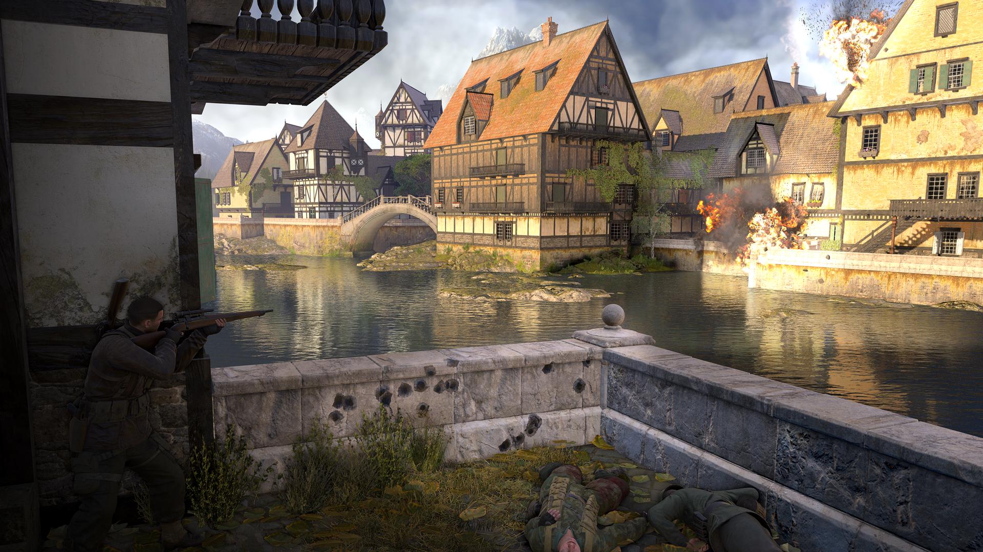 Sniper Elite 4 - Deathstorm Part 3: Obliteration screenshot