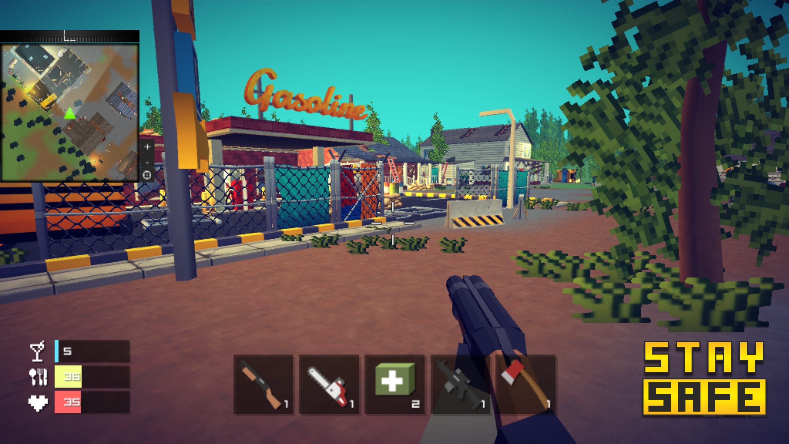 BATTLE PIXEL'S SURVIVAL GROUND screenshot