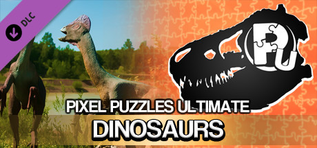 Jigsaw Puzzle Pack - Pixel Puzzles Ultimate: Dinosaurs