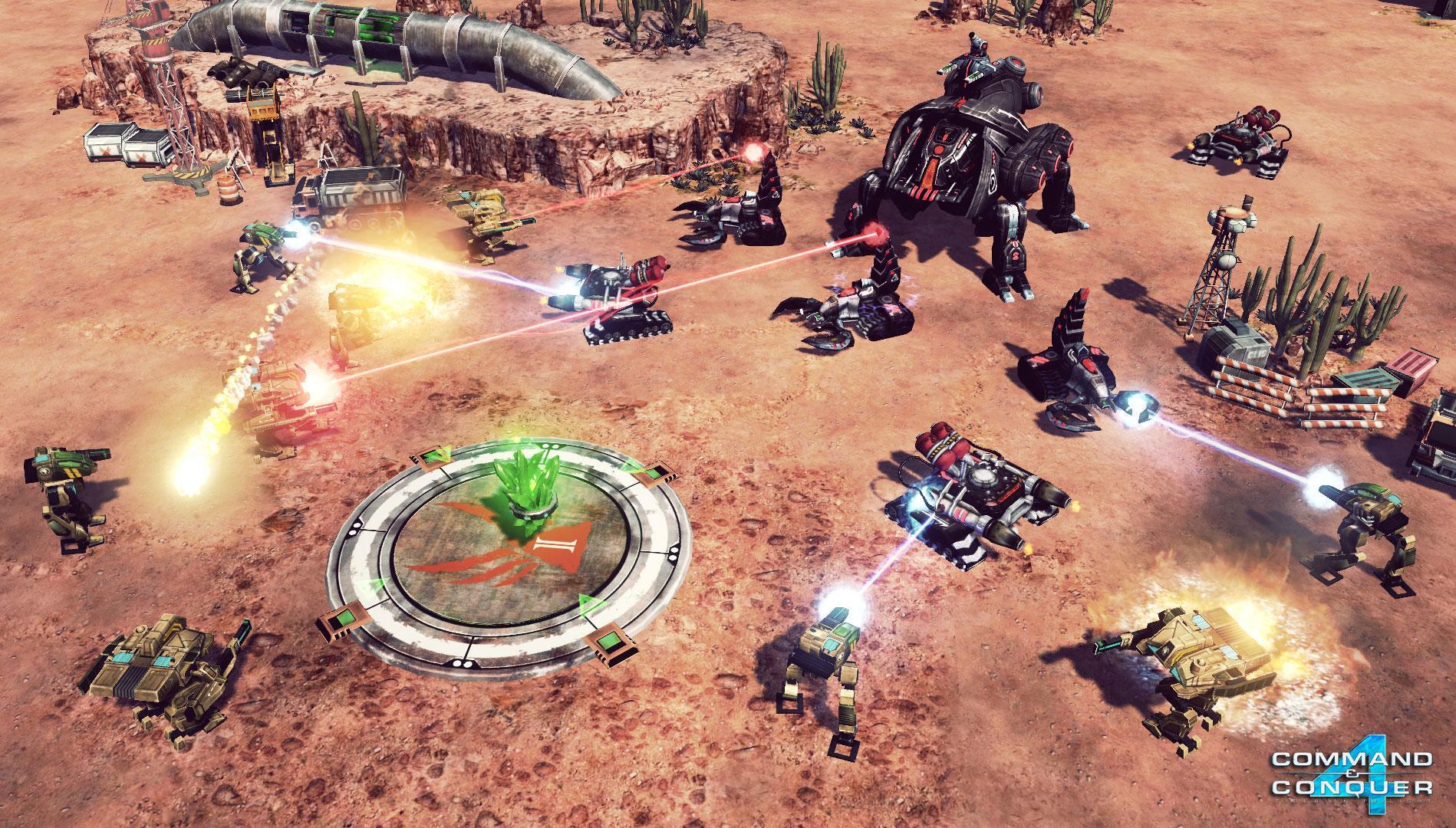 Играть command conquer 4 сети