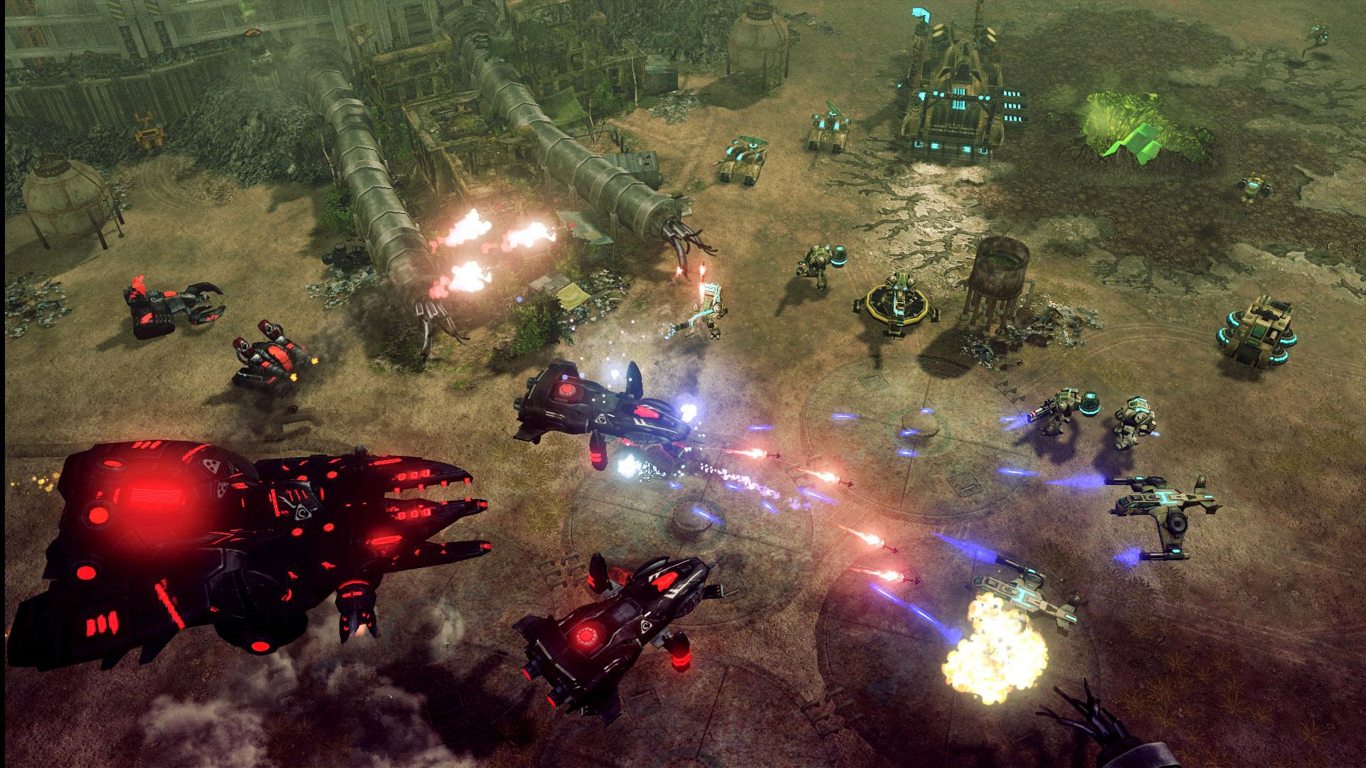 Command & Conquer 4: Tiberian Twilight screenshot