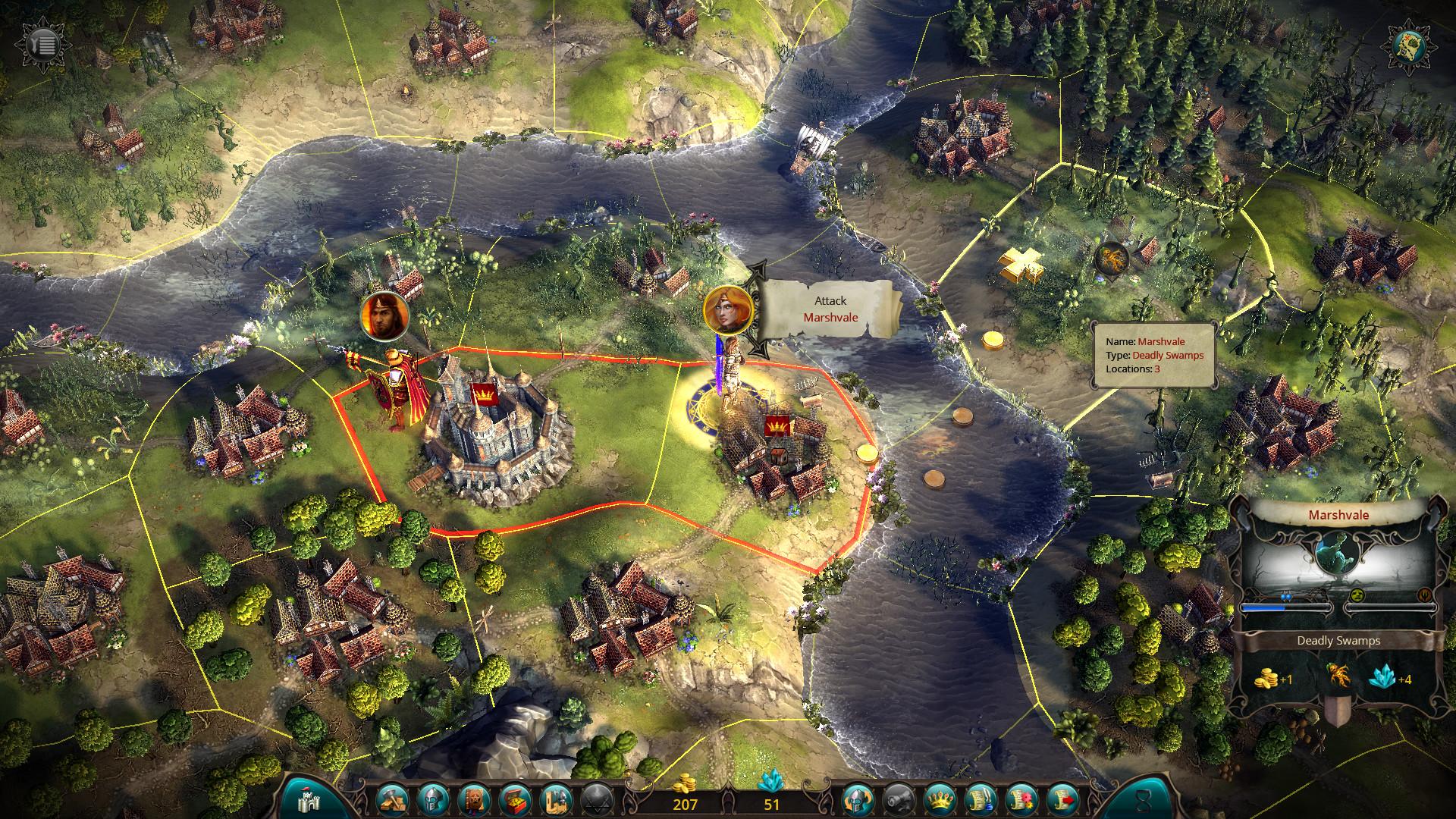 Eador. Imperium screenshot 1