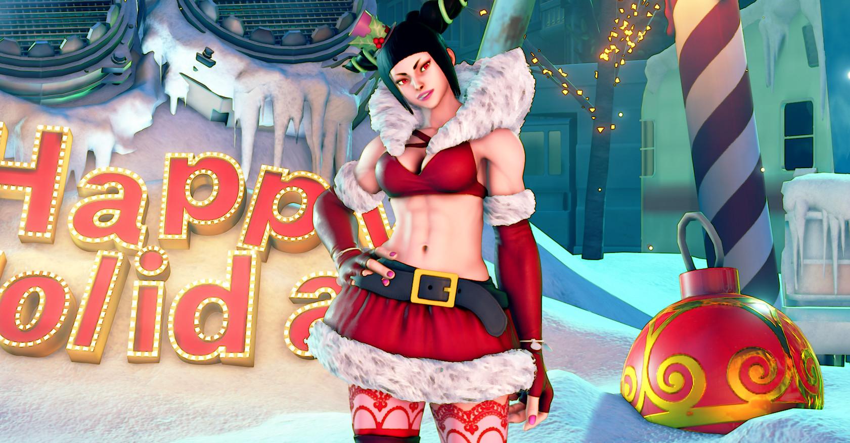 Street Fighter V - 2016 Holiday Pack screenshot