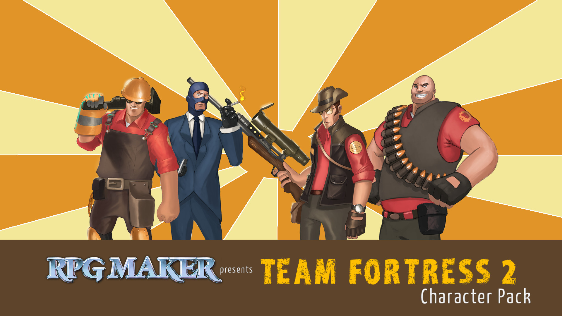 rpg maker mv team fortress 2 character pack steam discovery