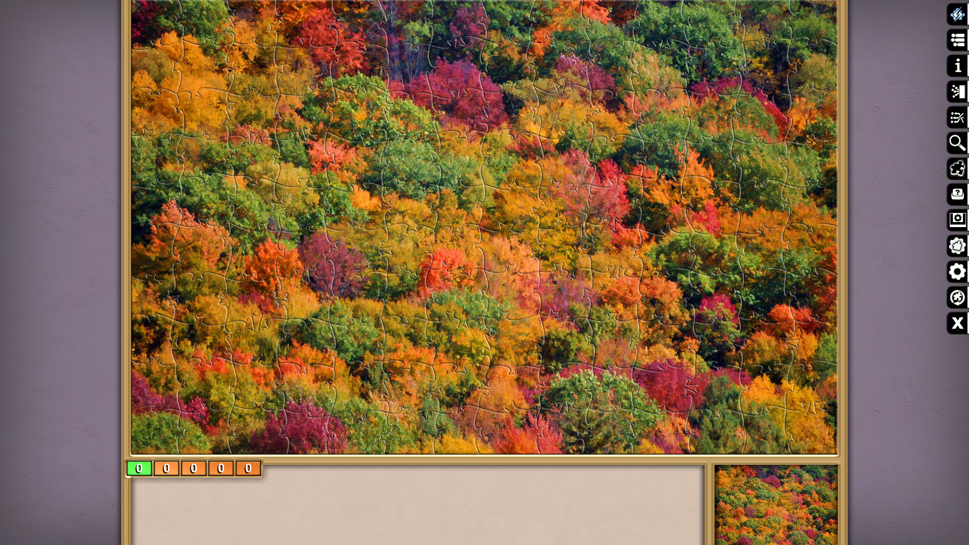 Jigsaw Puzzle Pack - Pixel Puzzles Ultimate: New England Fall screenshot