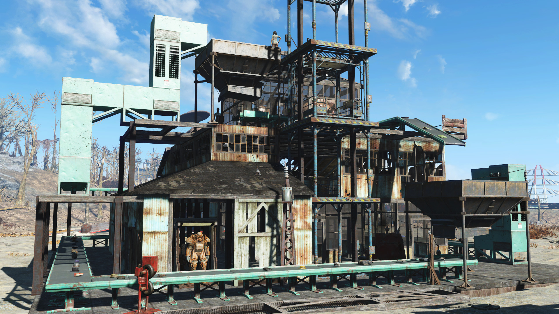 Fallout 4: Contraptions Workshop DLC Screenshot 2