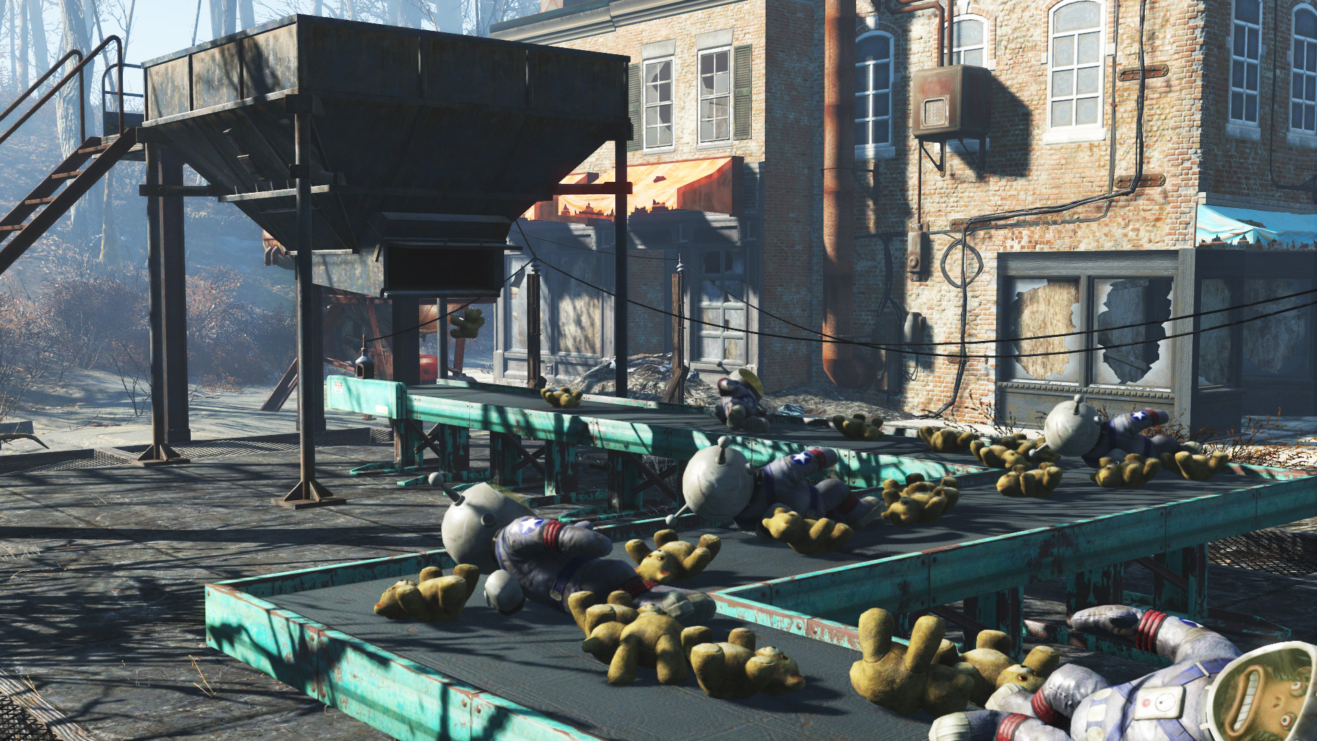 Fallout 4: Contraptions Workshop DLC Screenshot 1