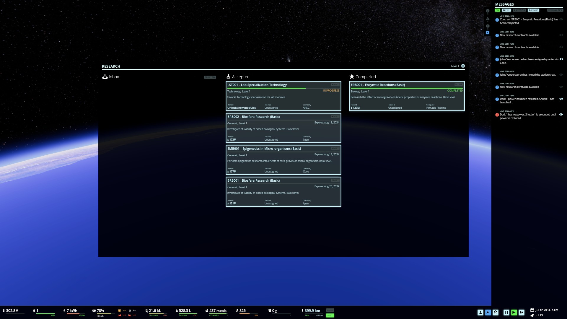 Stable Orbit screenshot