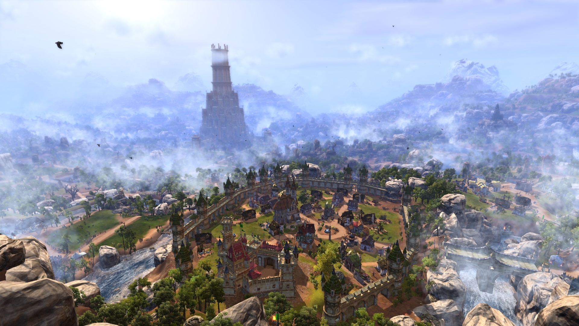 The Settlers 7: Conquest - The Empire Expansion DLC screenshot