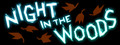 Night in the Woods logo