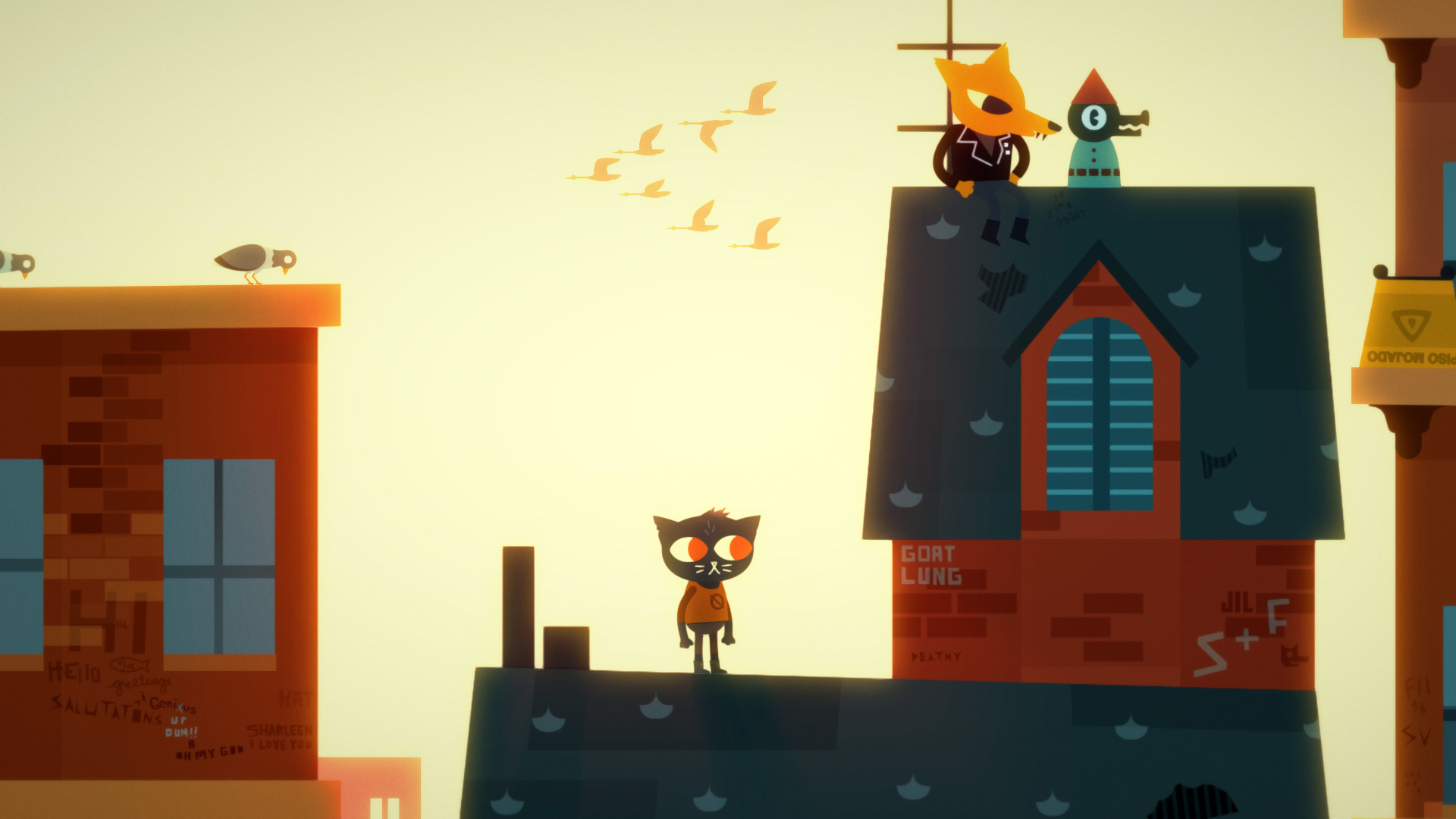 Night in the Woods Weird Autumn Edition