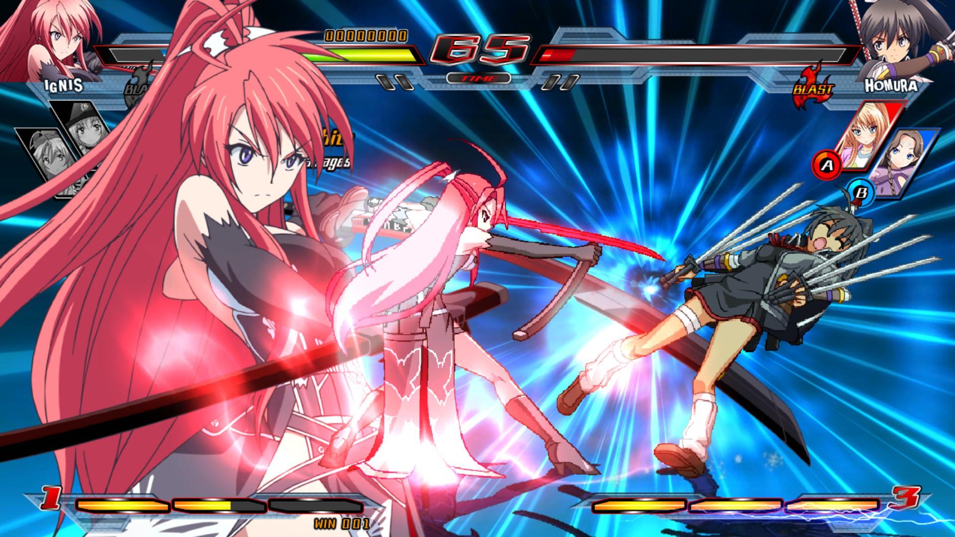 Nitroplus Blasterz Heroines Infinite Duel On Steam