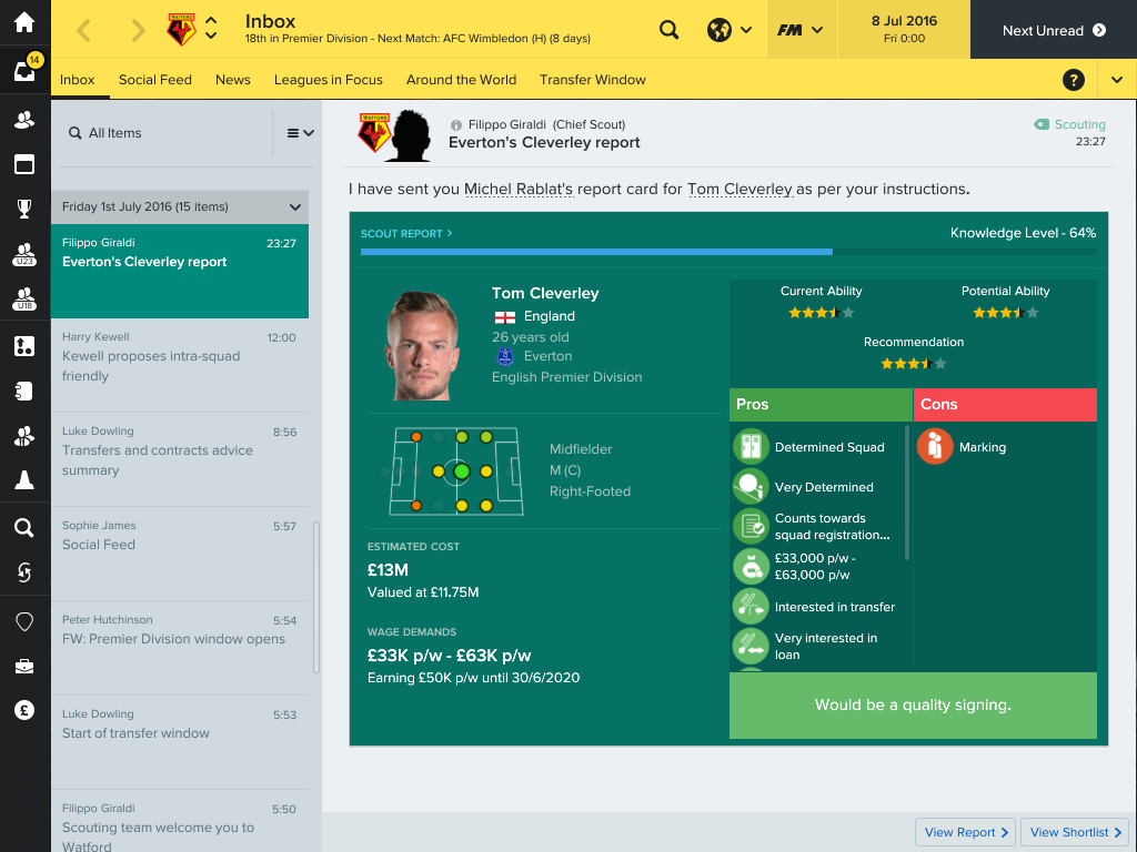 Football Manager 2017 + Touch 2017 [RePack] [2016 Rus Eng Multi16]