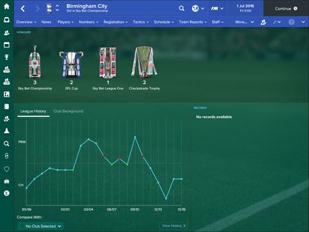 Скриншот игры [Аккаунта] Football Manager 2017