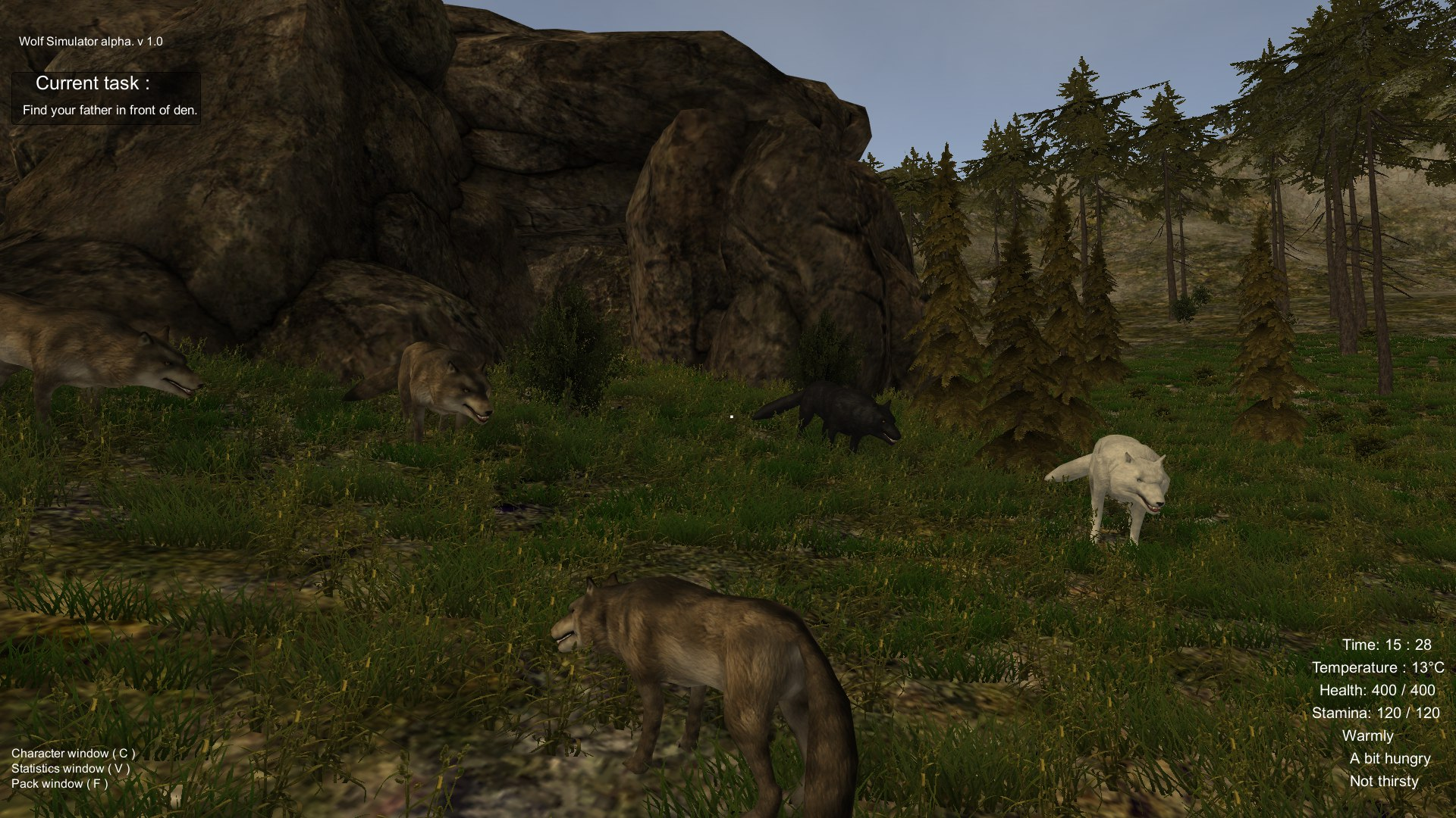 Wolf Simulator Screenshot 3