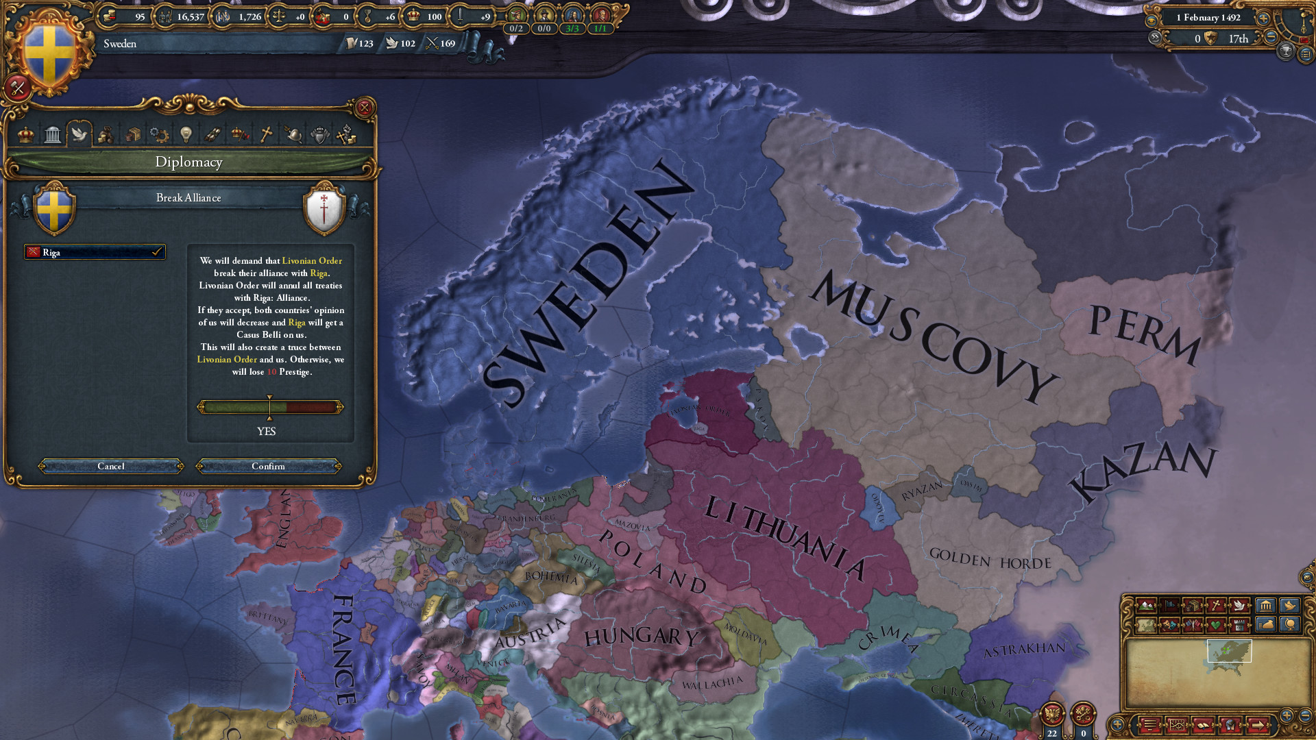 Europa Universalis IV: Rights of Man Screenshot 1