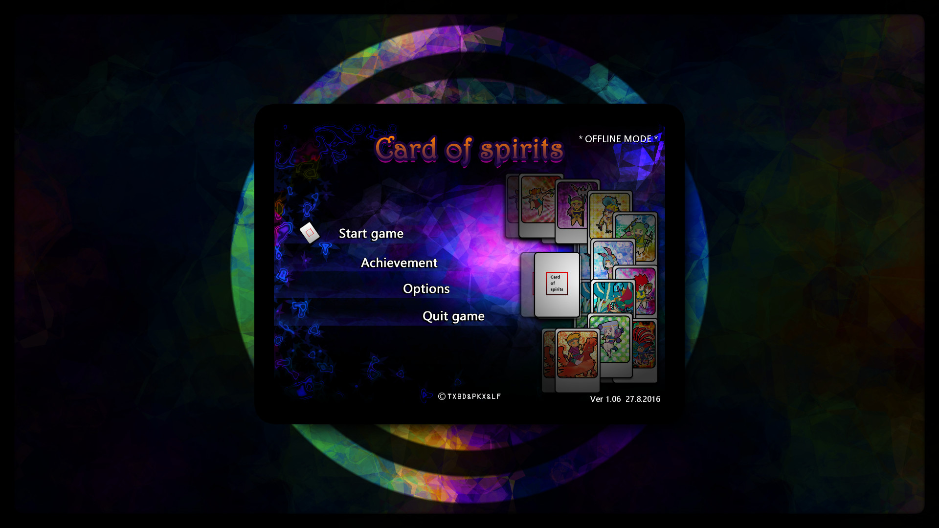 Card of spirits(卡灵) screenshot