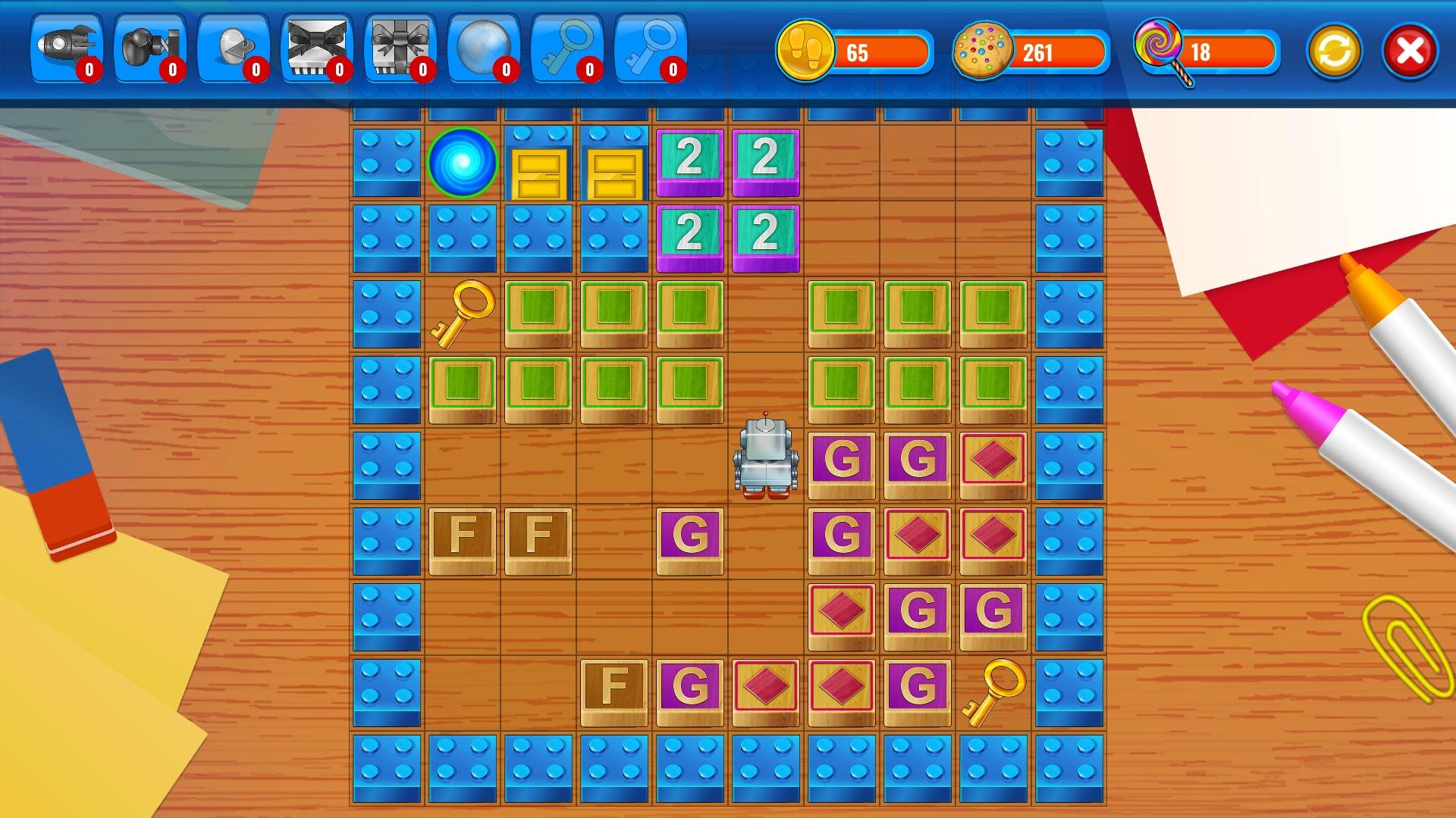 Abrix 2 - Brown version screenshot